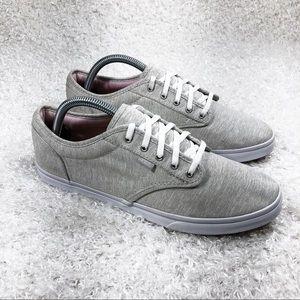 Vans Light Gray Lace Up Shoes